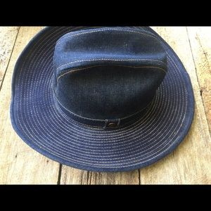 Levi s Accessories - Vintage 1970 s Levi Strauss Denim Cowboy hat. 64ddc9eba17